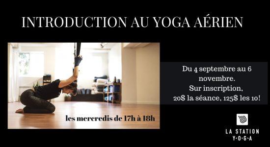 Introduction au yoga aérien