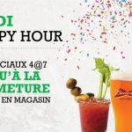 Jeudi Happy Hour - Blaxton Cartier - Restaurant Pub et Grill