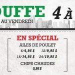 Bouffe 4 à 7 | Blaxton Cartier – Restaurant Pub et Grill
