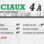 Spéciaux 4 à 7 - Blaxton Cartier - Restaurant Pub et Grill