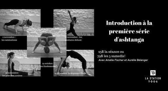 Introduction à la première série d'ashtanga