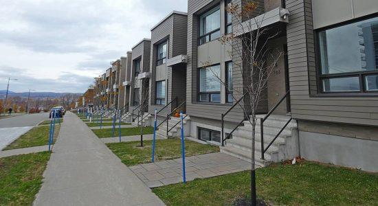 Maisons de ville (blocs M et L).