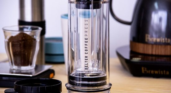 Le Delter Coffee Press chez BeCoffee | BeCoffee