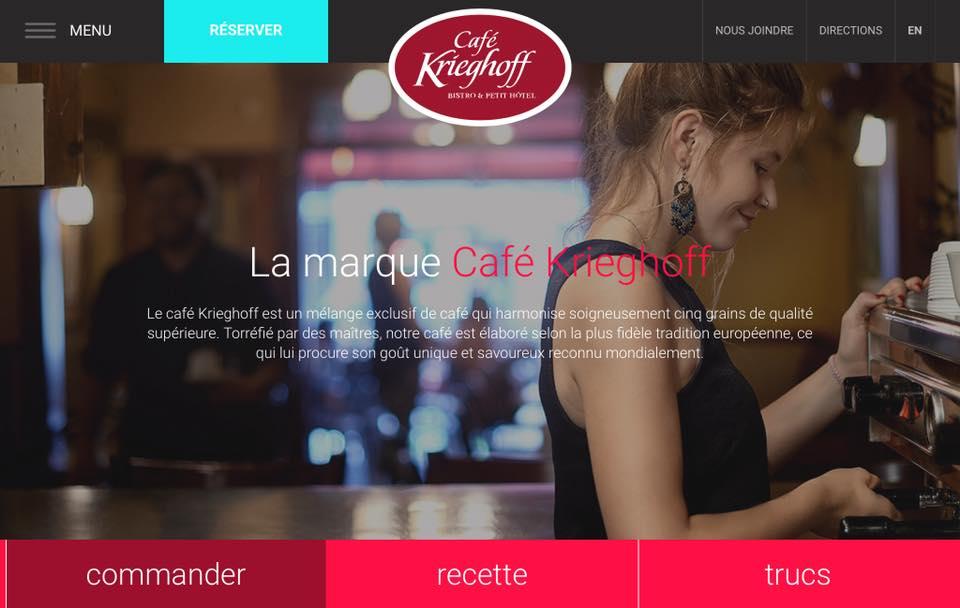La marque café Krieghoff   Café Krieghoff