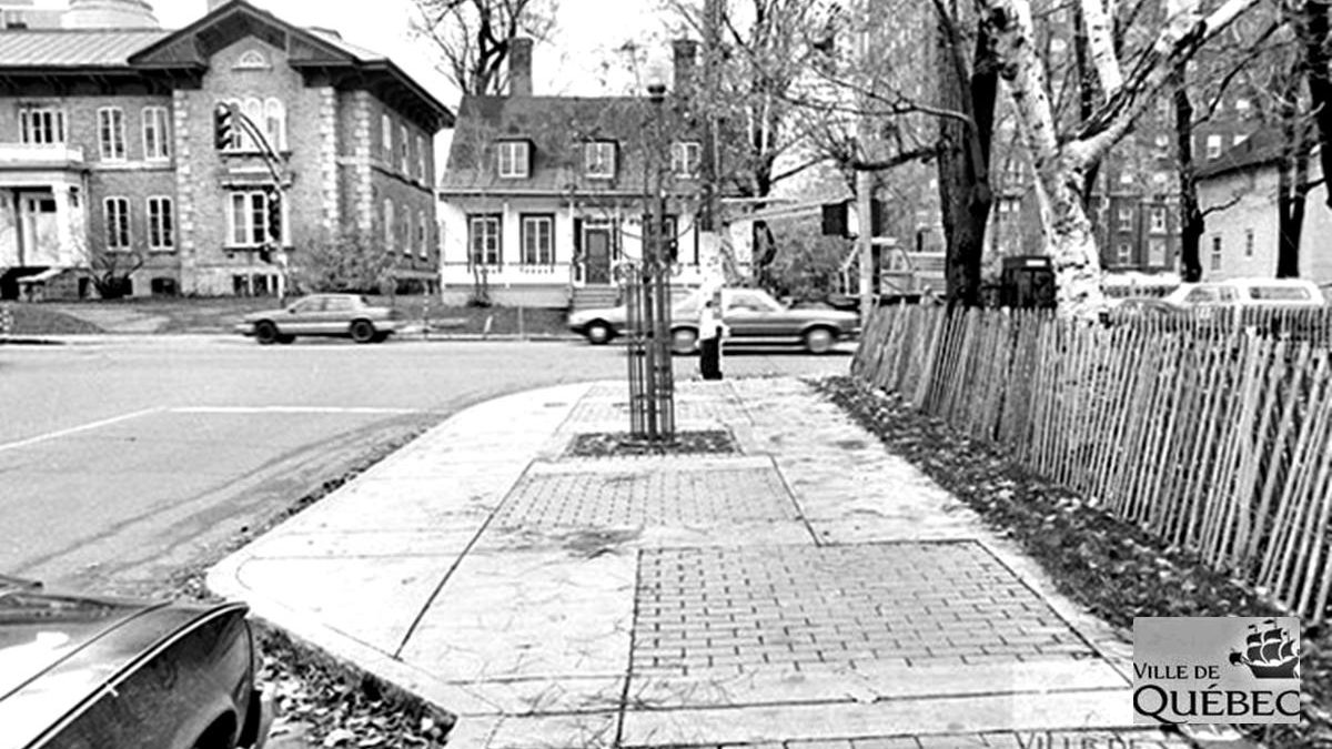 Montcalm dans les années 1980 : coin Cartier et Grande Allée | 17 novembre 2019 | Article par Jean Cazes