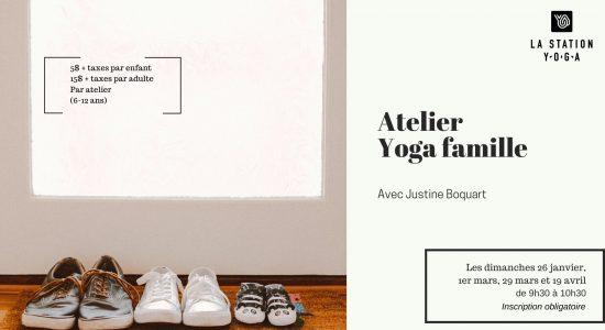 Atelier – Yoga famille