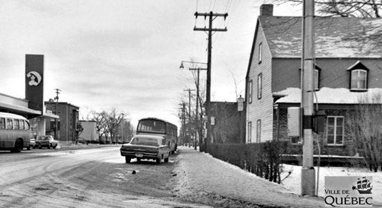 Saint-Sacrement dans les années 1960 : coin Belvédère et Saint-Cyrille - Jean Cazes