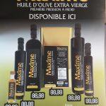 Nouveauté :  Huile d'olive importée de Grèce - Marjane   Boucherie - Épicerie - Traiteur