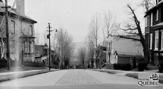 Montcalm dans les années 1940 : avenue Désy - Jean Cazes