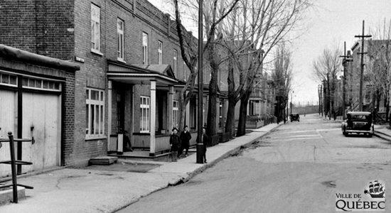 Montcalm dans les années 1940 : la rue Jeanne-d'Arc - Jean Cazes