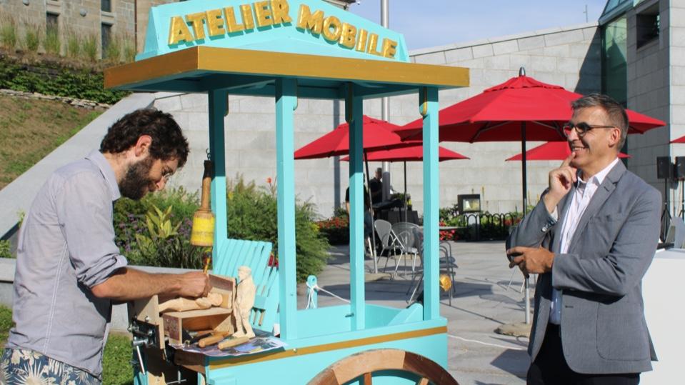 Le musée s'ouvre au quartier cet été | 24 juillet 2020 | Article par Véronique Demers