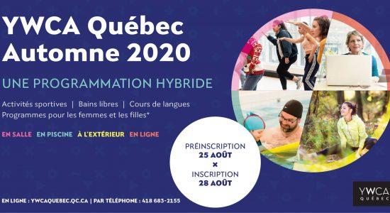 Inscription activités 2020