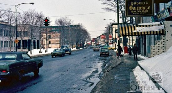 Montcalm dans les années 1970 : resto La Galerie Orientale - Jean Cazes