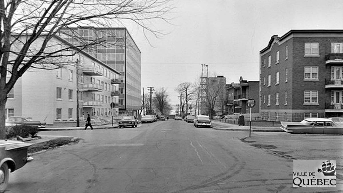 Saint-Sacrement dans les années 1960 : avenue Bégin | 13 décembre 2020 | Article par Jean Cazes