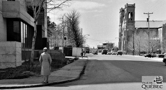 Saint-Sacrement dans les années 1970 : le chemin Sainte-Foy au voisinage du Samuel-Holland - Jean Cazes