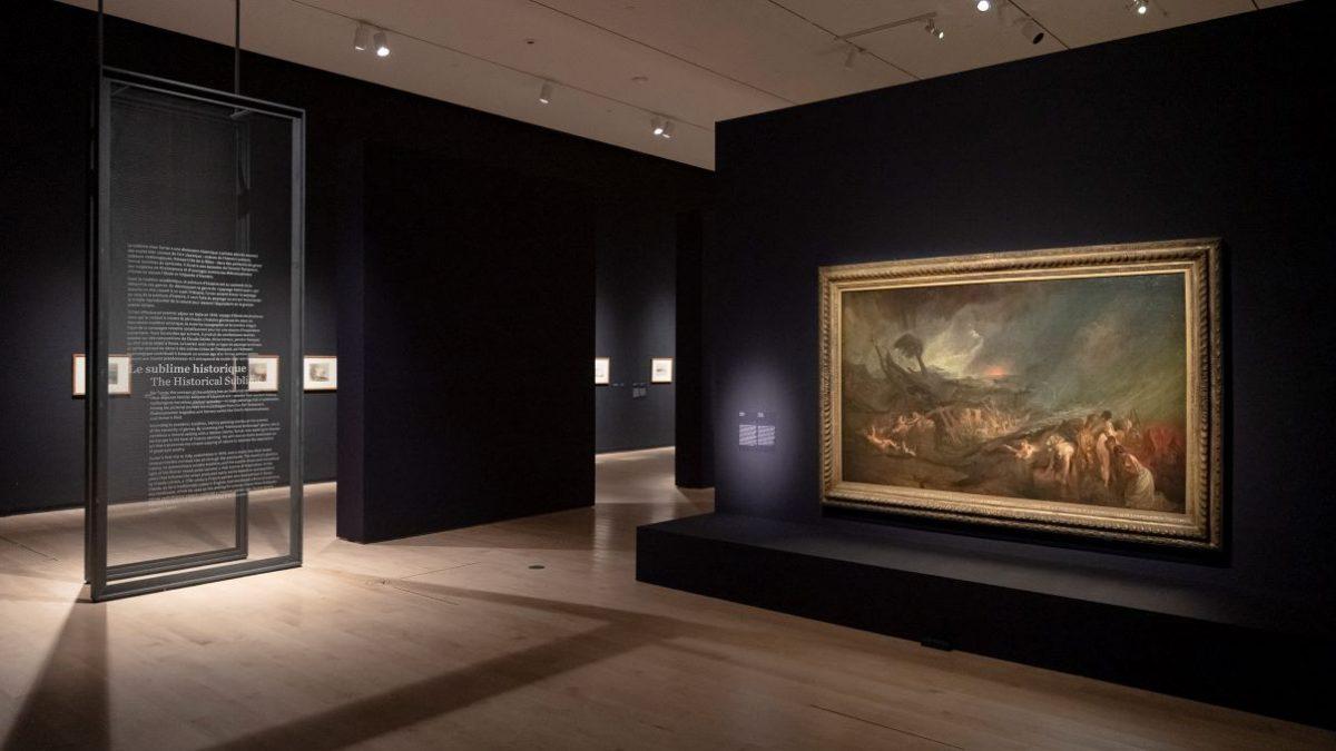 L'expo «Turner et le sublime» enfin présentée au MNBAQ   9 février 2021   Article par Julie Rheaume