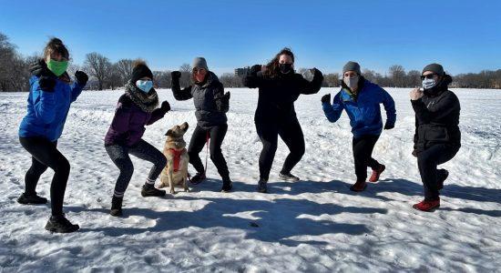 Courir à Québec pour les caribous de la Gaspésie - Jason Duval