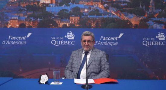 Le maire Labeaume ne briguera pas de nouveau mandat - Julie Rheaume