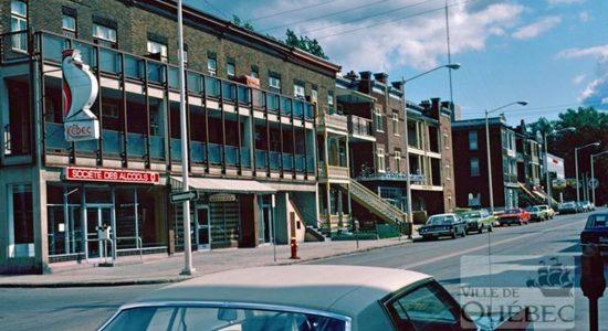 Montcalm dans les années 1970 : l'avenue Cartier et sa SAQ - Jean Cazes