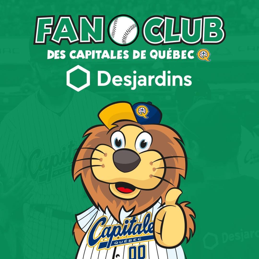 Devenez membres du Fan Club Desjardins des Capitales de Québec | Desjardins - Caisse du Plateau Montcalm