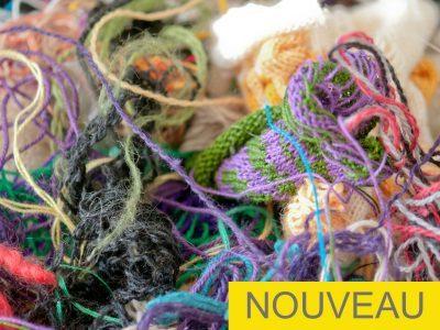 Teinture créative sur laine – Atelier grand public MMAQ