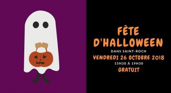 Fête d'Halloween dans Saint-Roch