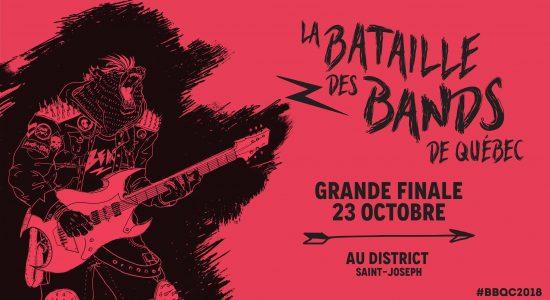 Finale de la Bataille des Bands avec Pépé et sa guitare