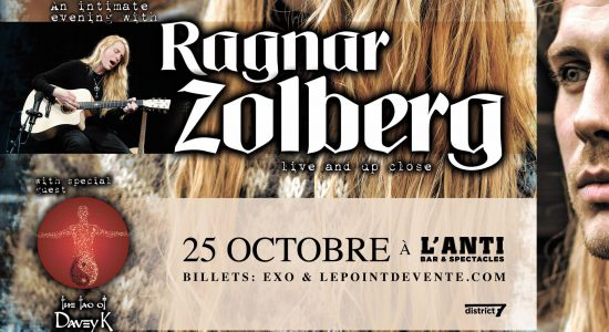 Ragnar Zolberg ex Pain of Salvation avec Hillward (acoustique)