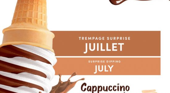 Trempage du mois de juillet : Cappuccino caramel | Chocolato
