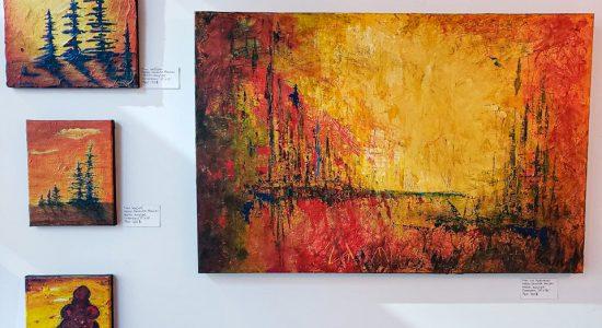Exposition artistes peintres | Geneviève Beaulieu et Andréanne Pérusse