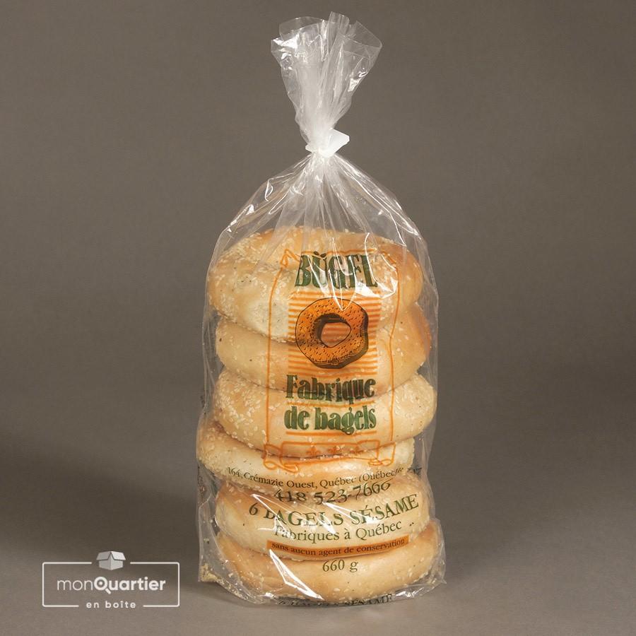 Mélange de bagels découverte