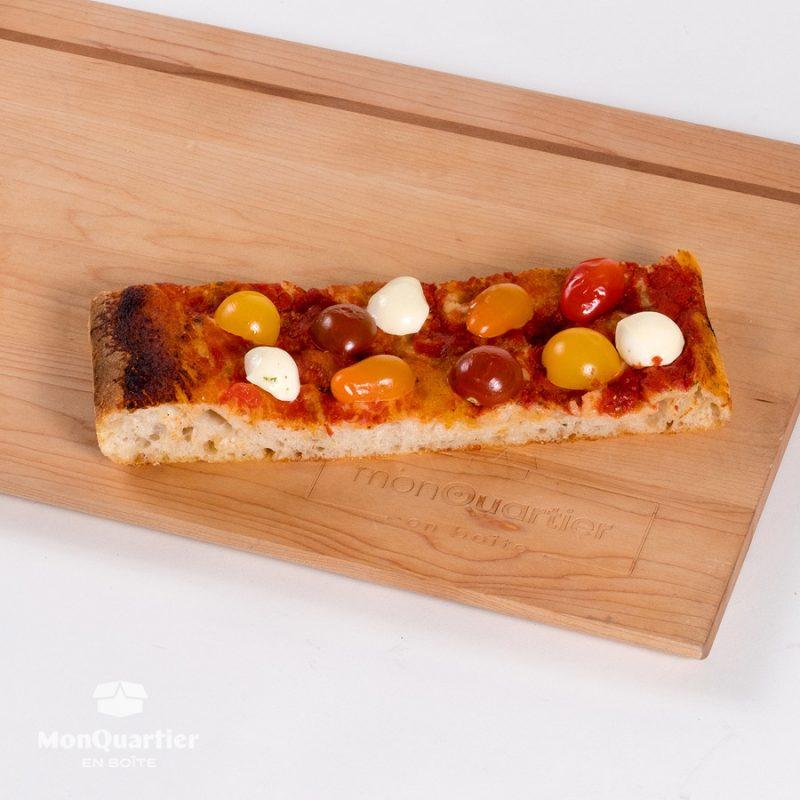 Focaccia bocconcini tomates