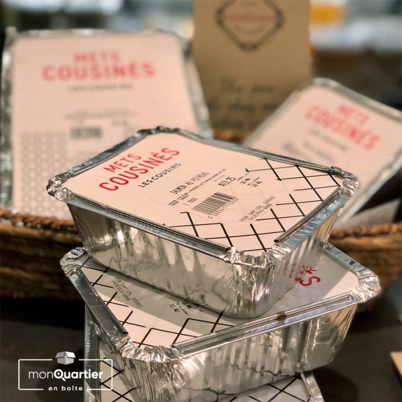 Boîte « Mets Cousinés » Végétarienne