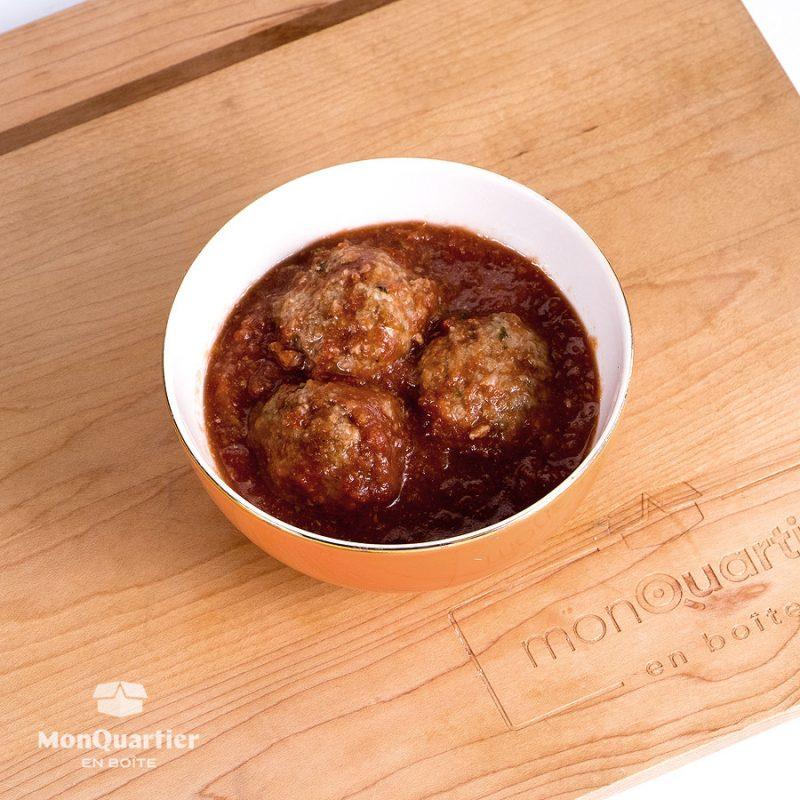 Polpettes à la sauce tomate