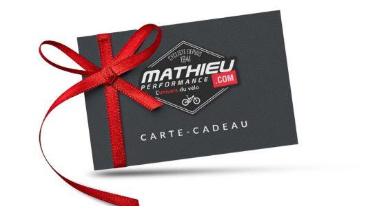 Carte-cadeau Mathieu Performance | Mathieu Performance