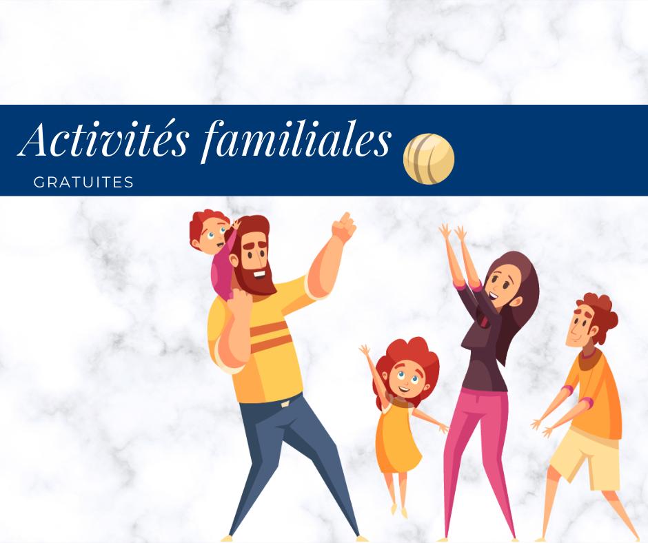 Activités familiales gratuites au Centre Durocher