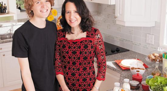 Des lunchs réinventés pour les personnes allergiques - Céline Fabriès