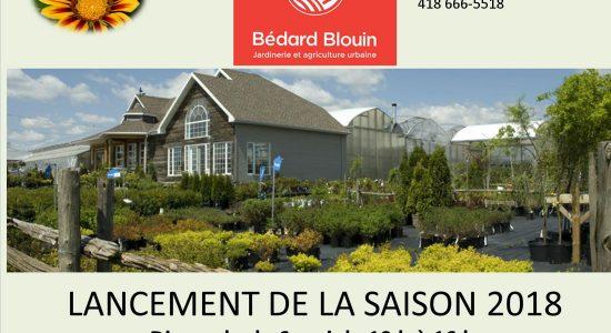 Ferme Bédard Blouin – Lancement de la saison 2018