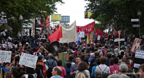 Manifestation du 7 juin contre le G7 : plus de peur que de mal - Monmontcalm