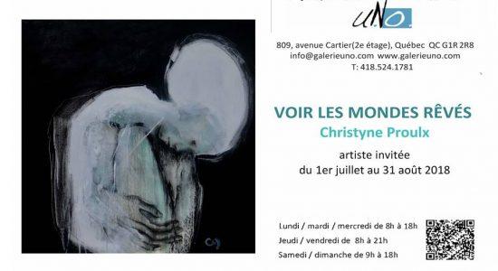 Exposition: Voir les mondes rêvés, Christyne Proulx