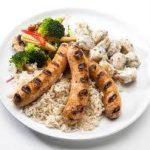 Nouveautés: Merguez shish taouk / Merguez poulet & fromage en grain . - Marjane