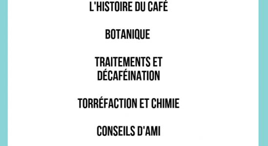 A-B-C du café pour tous
