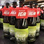 Bière saisonnière: Saison de l'île – Exclusivité IGA - IGA Deschênes