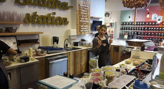 Buddha-Station ouvre un comptoir santé sur l'avenue Cartier - Céline Fabriès