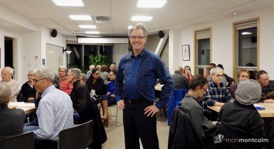Le conseiller municipal Jean Rousseau rencontre les citoyen.ne.s - Baptiste Piguet