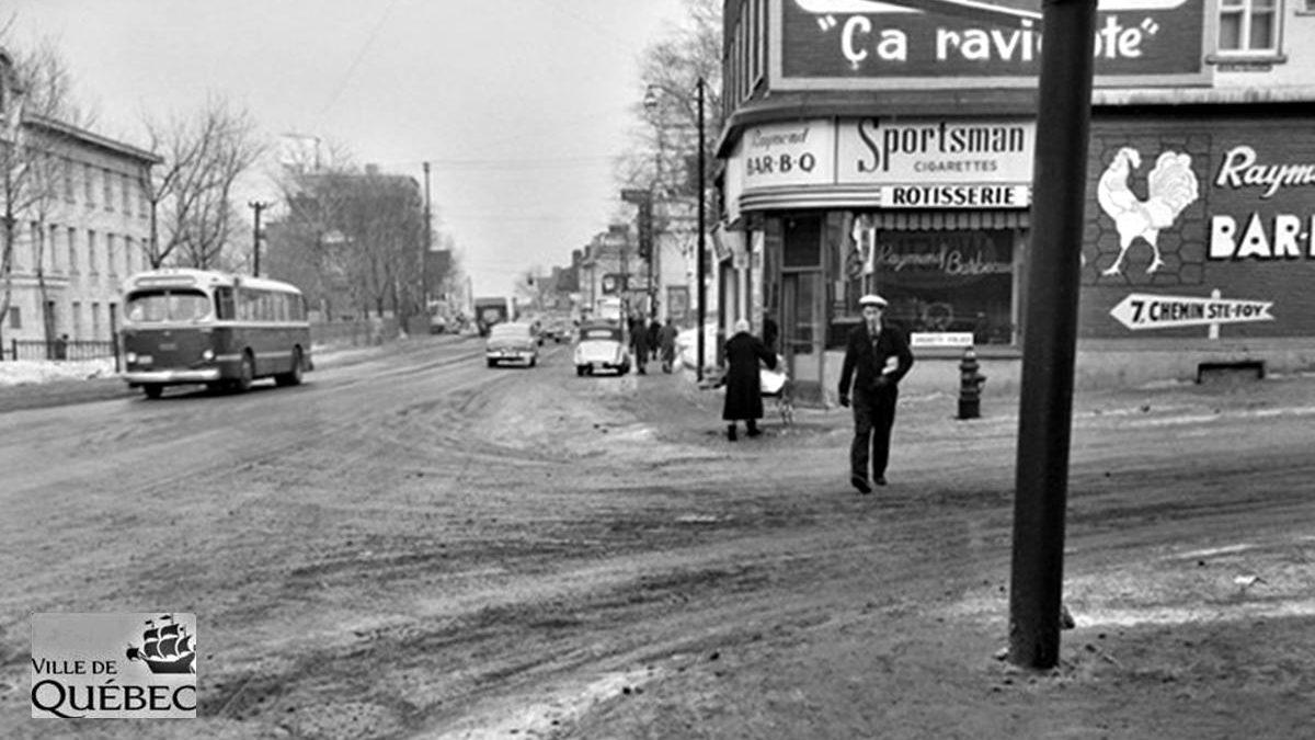 Montcalm dans les années 1950 : la rôtisserie Raymond Bar-B-Q   12 janvier 2020   Article par Jean Cazes