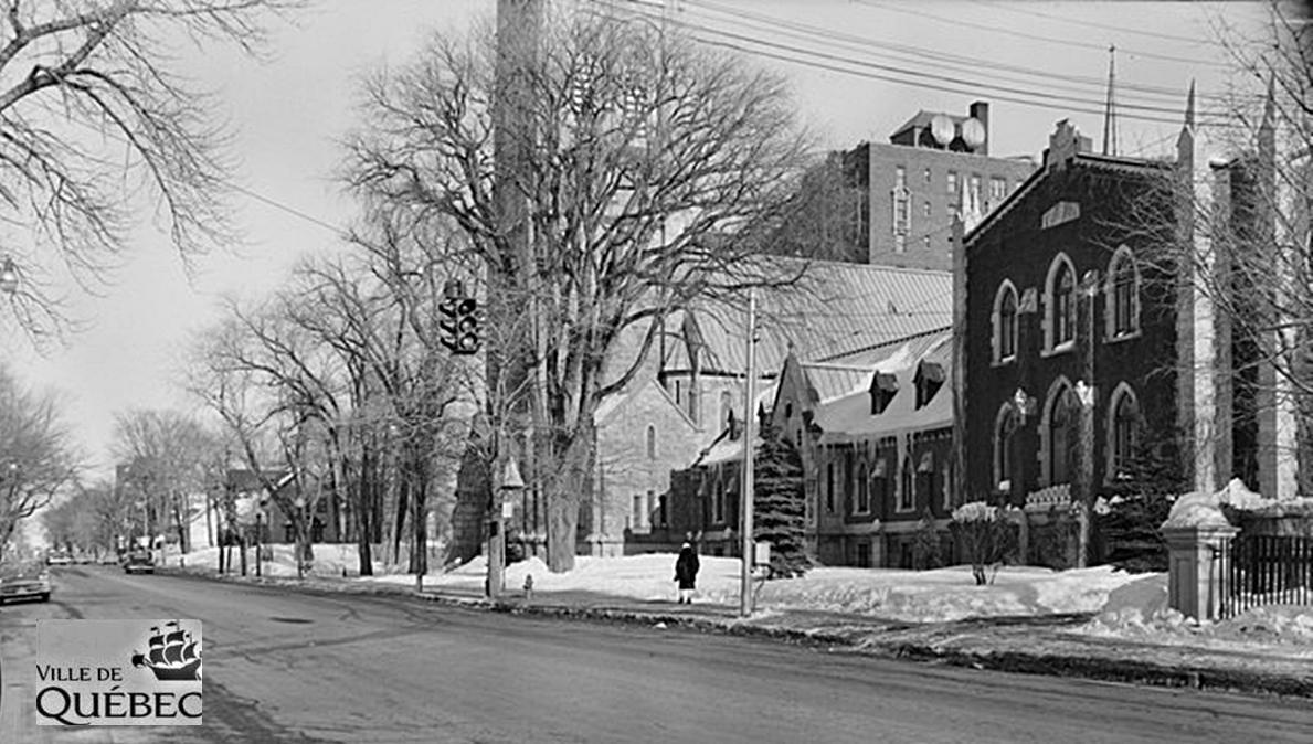 Montcalm dans les années 1950 : monastère des pères dominicains, sur Grande Allée | 29 décembre 2018 | Article par Jean Cazes