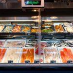 Belle sélection de poissons, fruits de mer et mets préparés - Poissonnerie Poisson d'Or