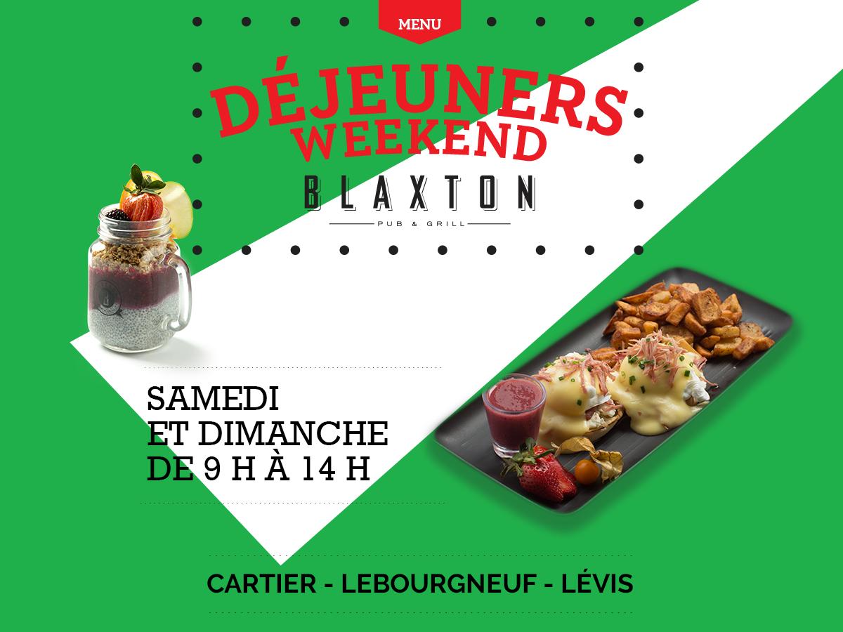 Les déjeuners weekend au Blaxton Cartier | Blaxton Cartier – Restaurant Pub et Grill