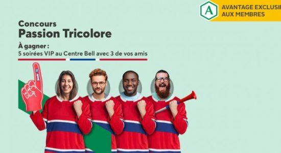Concours Passion Tricolore   Desjardins – Caisse de Québec
